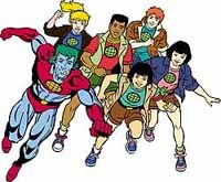 Captain Planet And The Planeteers premiered on TBS on September 10, 1990. Later re-titled The New Adventures of Captain Planet, the show delivered four seasons of eco-friendly entertainment. © 2001 Captain Planet Foundation, Inc.