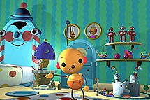 Rolie Polie Olie, one of the studio's most popular projects, led them to increased recognition as a production company. © 2002 Nelvana Ltd./Sparkling*/France 5. All rights reserved.