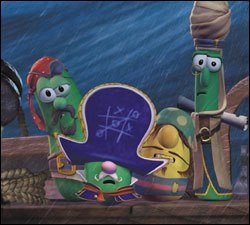 Who knew 20 years ago that vegetables could be movie stars? Big Idea Production's Jonah  A Veggie Tales Movie marks the best selling home video's transition to the silver screen. All images Property of Artisan Entertainment.