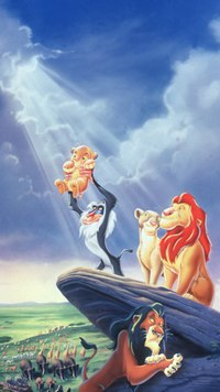 This opening scene from The Lion King sets the stage for the rest of the film. © The Walt Disney Company.