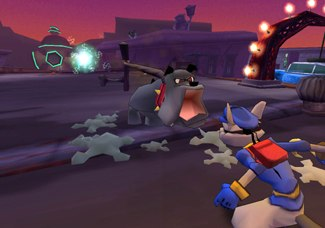 Suzanne Kaufman of Sucker Punch finds inspiration in classic animation. She created the enemies in Sly Cooper and the Thievious Raccoonus.