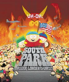 South Park: Bigger, Longer, and Uncut took a rare politically incorrect stand when it lampooned Saddam Hussein. © Comedy Partners, Inc. All rights reserved.