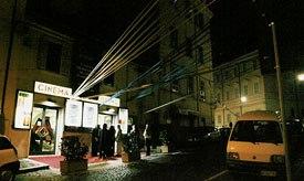 Nighttime at I Castelli Animati. Courtesy of Katharina Frank.