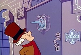 The one that started it all: Mr Magoo's Christmas Carol. © 2002 Classic Media.