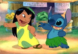 Deja took his cues on how to animate Lilo from her character's complex emotional range.