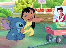 Lilo & Stitch exuded great charm. © Disney Enterprises, Inc. All rights reserved.