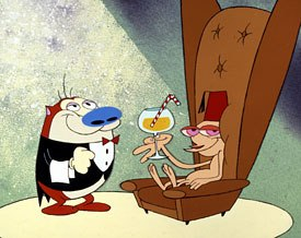 It didn't take long for Kricfalusi and his team to get back into the Ren and Stimpy spirit. All Ren and Stimpy images courtesy of Nickelodeon.