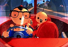 Past generations missed out on the multitude of children's educational shows that are now ubiquitous. Rolie Polie Olie © Nelvana.