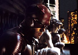 Daredevil seems to be pondering his own soul as well  super hero or ruthless vigilante?