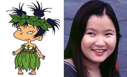 Sound effects, the role of the microphone and continual character development surprised Dionne Quan, who provides the voice of Kimi in Rugrats. Courtesy of Paramount Pictures/Nickelodeon Movies.