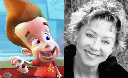 Debi Derryberry, who is the voice of boy genius Jimmy Neutron, realized that being a good on-screen actor doesn't guarantee that you'll be good at voice over work. Photo credit: Chris Ameruoso; Jimmy Neutron image courtesy of Nickelodeon.