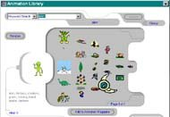 MicroSites' Library of animation and clip art.