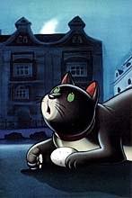 Zorba the cat from Lucky and Zorba. © Lanterna Magica.