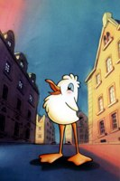 Lucky the seagull from Lucky and Zorba. © Lanterna Magica.