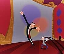 A still from Paint Misbehavin'. © 1997 Imax Corporation SANDDE Animation.