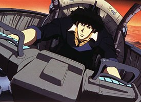 Spike Spiegel, one of the first characters introduced in the TV series, also stars in the feature film.