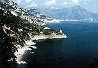 The beautiful Amalfi Coast, site of the Cartoons on the Bay Festival.