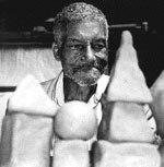William Moritz's most striking memory from his 1996 trip was seeing Fernando Diniz (above) present his film Eight Pointed Star. © Fernando Diniz.