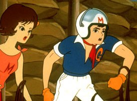 A kid took front and center stage in Speed Racer. Courtesy of Cartoon Network.