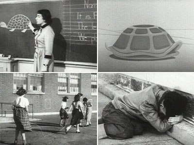 Archer Productions introduced Bert the Turtle to teach children how to survive an atomic blast in Duck and Cover.