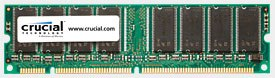 A simple way to upgrade is to increase memory with Crucial's PC-133 SDRAM DIMM.