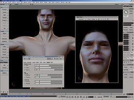 Characters can be created and rigged for animation with the greatest of ease with XSIs character set up tools. Image courtesy of Softimage Co. and Avid Technology Inc.