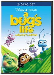 The recently released collector's edition of A Bug's Life is an example of how Disney mines its material.