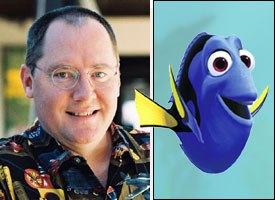 Executive producer John Lasseter noticed that Dory's tail didn't move, and felt it looked unrealistic.