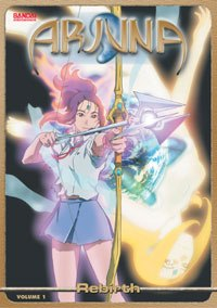 High school student Juna is tapped to save the universe as the spiritual warrior Arjuna. © 2001-2002 ARJUNA PROJECT·Sotsu Agency·TV Tokyo. All rights reserved.