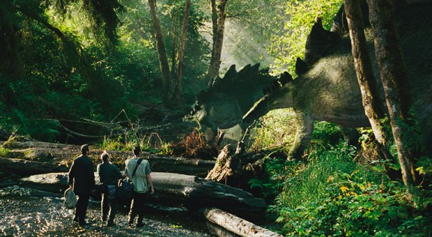 [Figure 3] Dinosaurs benefiting from elephant skin reference, in the 1997 film Jurassic Park: The Lost World.