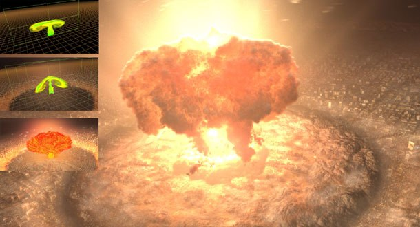Judgment Day arrives in T3 with this ILM-designed nuclear explosion.