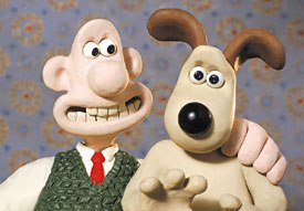A panel discussion on production in the U.K. noted that Aardman will be producing a feature version of Wallace and Gromit soon. © Aardman/W & G Ltd. 1989.