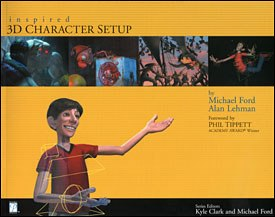 All images from Inspired 3D Character Setup by Michael Ford and Alan Lehman, series edited by Kyle Clark and Michael Ford. Reprinted with permission.