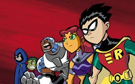 Teen Titans originally was DCs response to Marvels X-Men. © Cartoon Network.