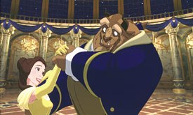 Beauty and the Beast's Oscar nomination signaled Hollywood gaining respect for at art form. © Disney Enterprises, Inc. All rights reserved.