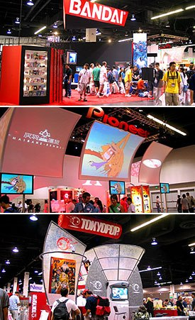 As companies get bigger so does their presence at Anime Expo.