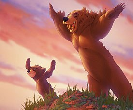 Michael Eisner wanted another animal project to follow in The Lion Kings footsteps. The animators on Brother Bear seemed to be visually inspired by the megahit.
