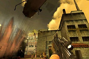 Zombies Shadow Ops: Red Mercury team tracked down an elite collection of special forces military gear and cyber-scanned the details for the game. Courtesy of Atari.