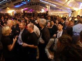 MIPCOM starts out strong at the Opening Night Bash. © MIPCOM.
