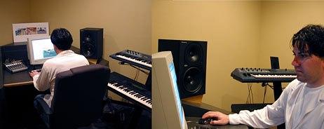 Kays Al-Atrakchi of Sound O Rama composing the original score for Lesson 3.