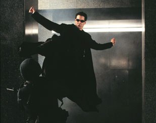 The undeniable cool of the original The Matrix gave the effects artists on the sequel free reign.