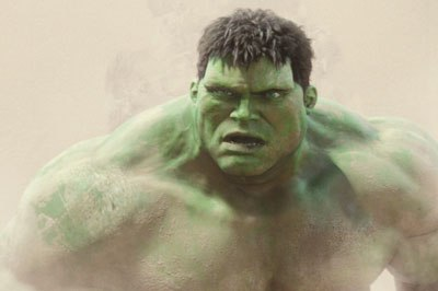 Cartoon and realism come together in Hulk. © 2003 Universal Studios. All rights reserved. Credit: ILM.