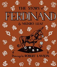 Munro Leafs controversial book with its non-violent message was the basis for Disneys Oscar winner Ferdinand the Bull.