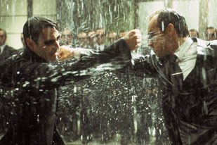 ESCs work on this fight scene between Neo and Smith helped make it memorable to audiences.
