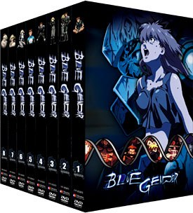 Blue Gender presents a bleak drama like other classic anime titles, Akira and Graveyard of Fireflies. © FUNimation Productions.