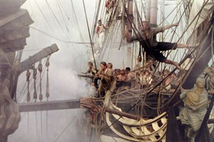 Some of the impressive CG work on Master and Commander even fooled director Peter Weir.  and © 2003 Twentieth Century Fox Film Corp. and Universal Studios and Miramax Film Corp. All rights reserved.