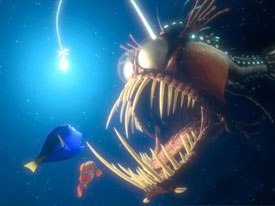 Is Finding Nemo plot just a clothesline to hang random gags? © Disney Enterprises Inc./Pixar Animation Studios. All rights reserved.