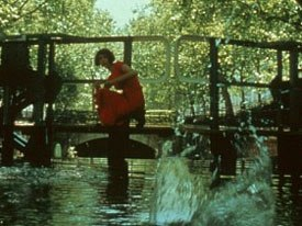 The imagery in Amelie had a very whimsical animated look and feel. © 2001 - Miramax Films - All rights reserved.