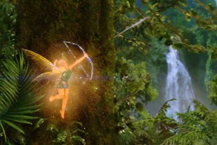 Tinker Bell was a major feat for the artists on Peter Pan. Credit: Industrial Light & Magic. All images © 2003 Universal Studios. All rights reserved.