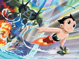 The first anime TV star in the U.S., Astro Boy, has returned with new adventures. Photo courtesy of Warner Bros. Television. © Sony Pictures Television.